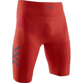 X-Bionic Twyce G2 Hardloop Shorts Heren, sunset orange/teal blue